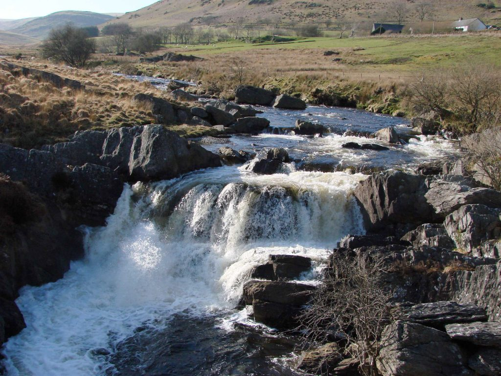 The wild and open beauty of the Elan Valley, just a few mile from The Arches